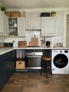 New Kitchen After New Vinyl Flooring