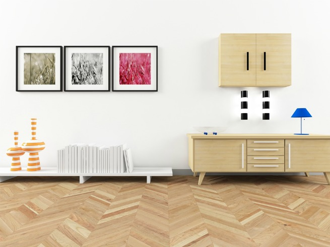 Image of parquet flooring