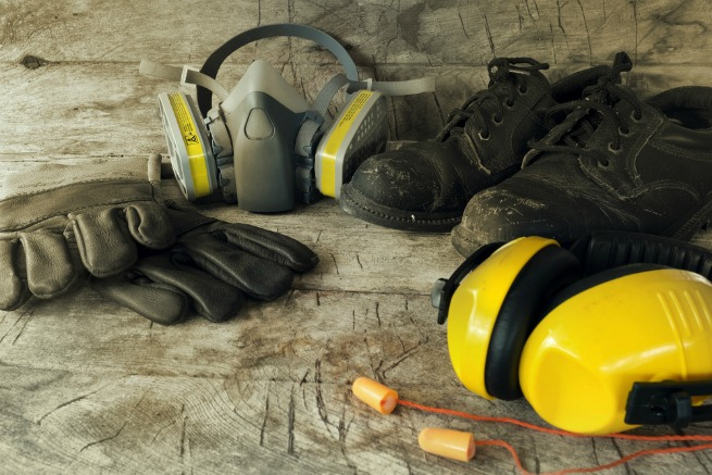 Image of safety gear