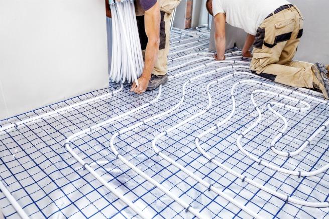 Image of underfloor heating