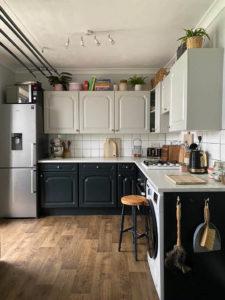 Vinyl Flooring Renovation - Kitchen After