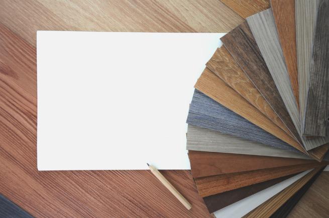 Image of vinyl floor samples