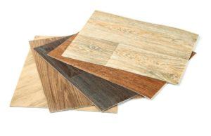 An image of vinyl flooring samples