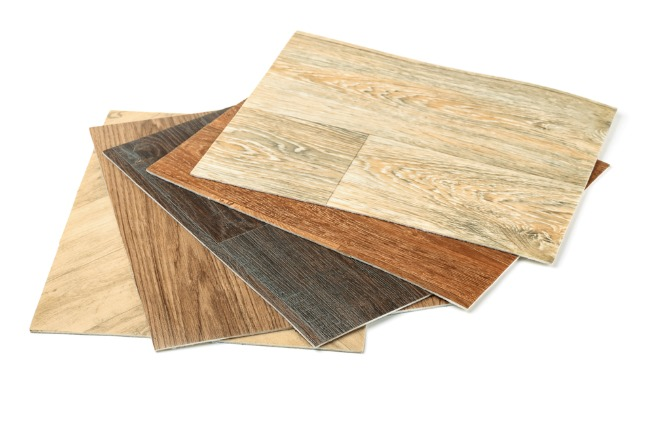 An image of vinyl flooring samples