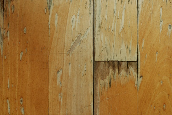 Image of water damaged laminate