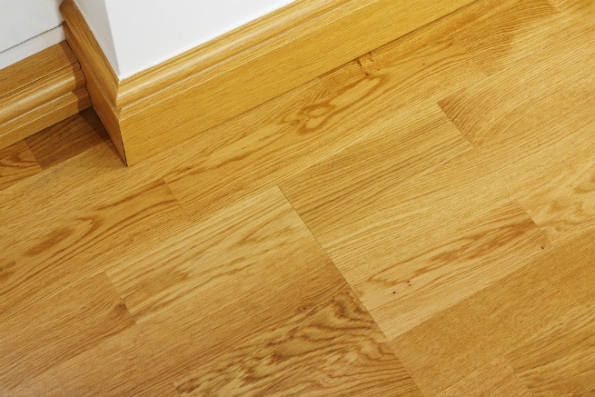 Image of wooden skirting boards