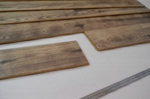 An image show laminate floor boards