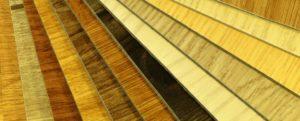 An image showing a range of laminate flooring