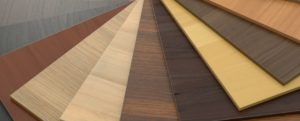 An image showing the various shades of laminate flooring