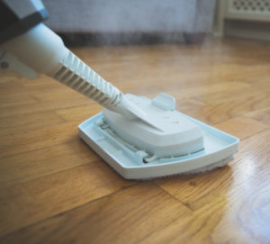 Can you use steam on a laminate floor