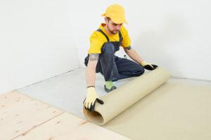 Underlay for laminate flooring
