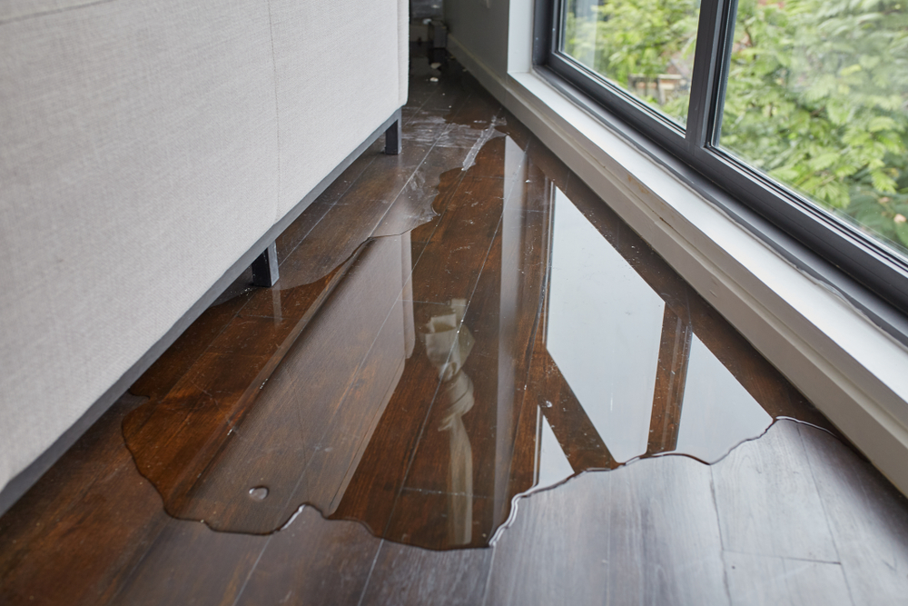 Repairing water damaged flooring