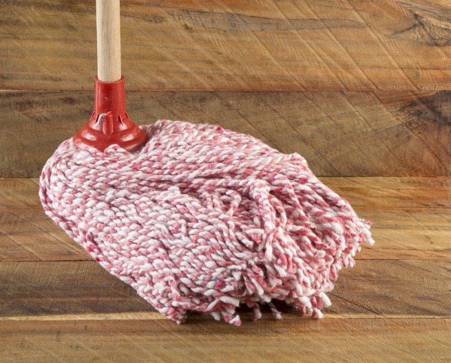 how to clean a solid wood floor