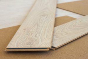 Image of laminate floor boards