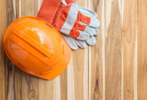 Hard wood flooring protective gear