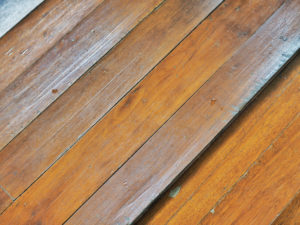 How to restore dented wooden flooring